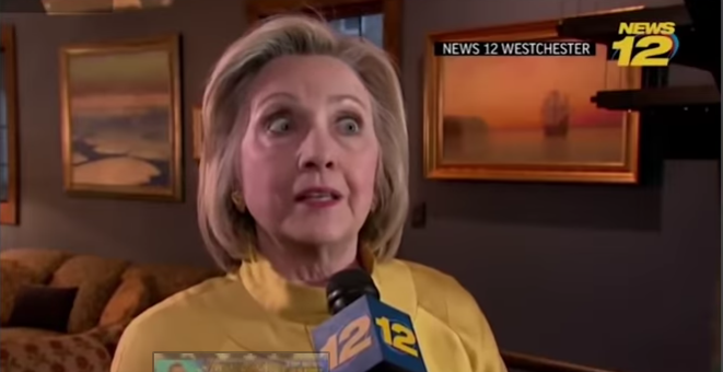 Hillary Clinton Needs Her Meds Checked, She Really Jumped The Shark This Time