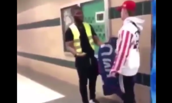 Watch: Another MAGA Student Assaulted, This Time By An Adult