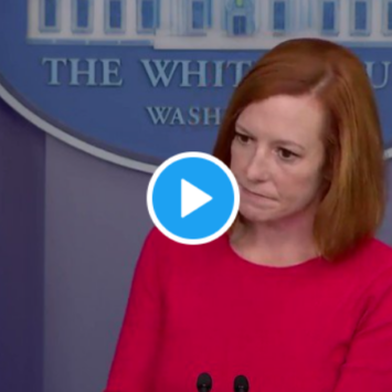 Psaki Grilled On Why Biden Is Sending Less Antibody Treatments To Red States